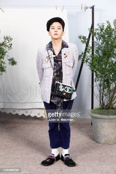 Dragon attends the Chanel Haute Couture Spring/Summer 2020 show as part of Paris Fashion Week at Grand Palais on January 21 2020 in Paris France