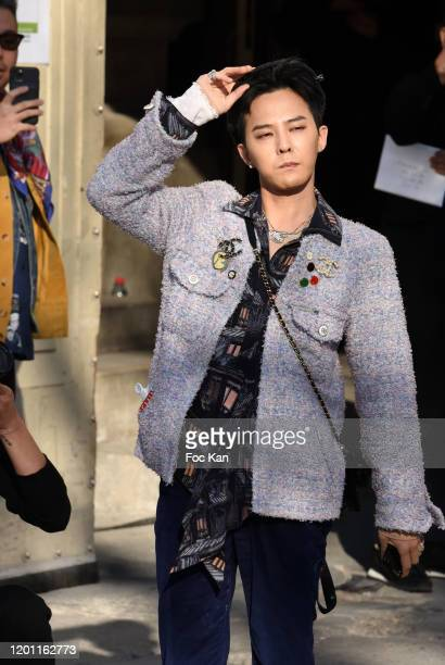 Dragon attends the Chanel Haute Couture Spring/Summer 2020 show as part of Paris Fashion Week on January 21, 2020 in Paris, France.