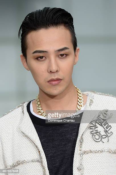 Dragon attends the Chanel show as part of Paris Fashion Week HauteCouture Spring/Summer 2015 on January 27 2015 in Paris France