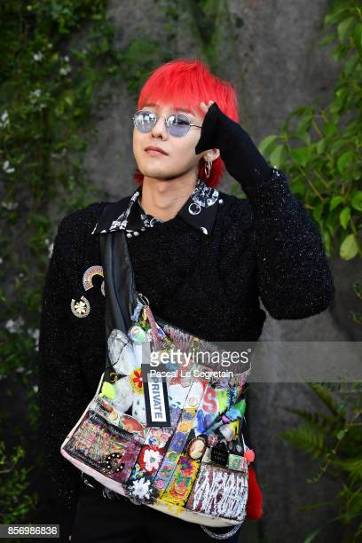 Dragon attends the Chanel show as part of the Paris Fashion Week Womenswear Spring/Summer 2018 on October 3 2017 in Paris France
