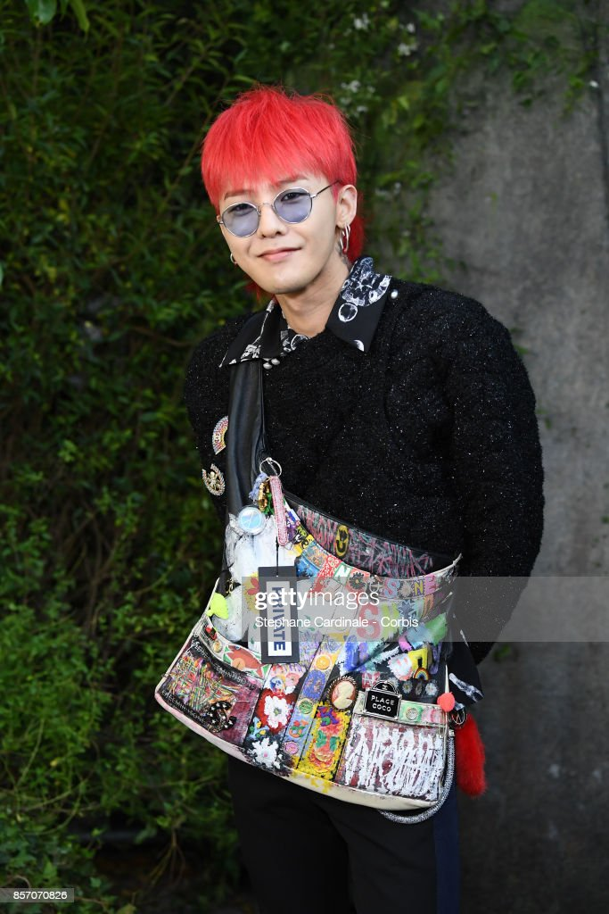 Chanel : Front Row - Paris Fashion Week Womenswear Spring/Summer 2018 : News Photo