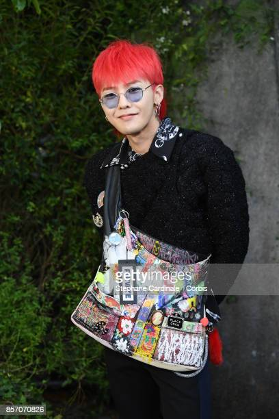 Dragon attends the Chanel show as part of the Paris Fashion Week Womenswear Spring/Summer 2018 at on October 3 2017 in Paris France
