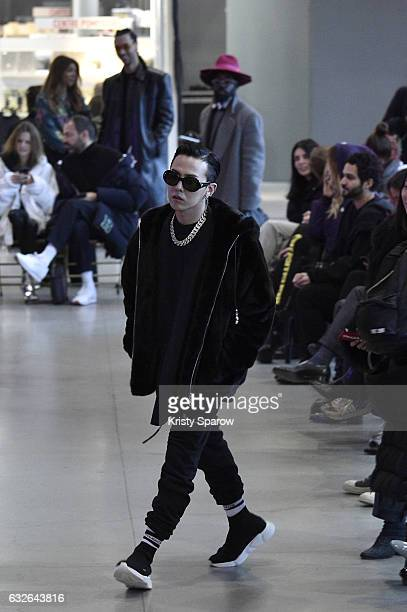 Dragon attends the Vetements Spring Summer 2017 show as part of Paris Fashion Week on January 24 2017 in Paris France