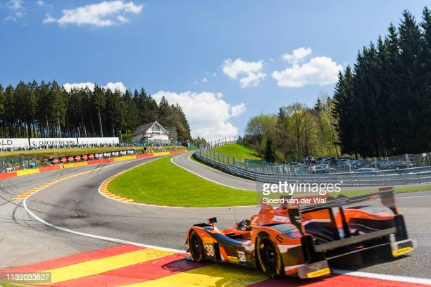 "Drive Racing Gibson 015S - Nissan LMP2 race car driven by S. DOLAN / G. VAN DER GARDE / J. DENNIS in Eau Rouge ""n during the 6 Hours of..."