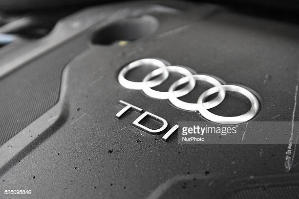 Gdynia Poland 30th March 2015 Acc recent studies exhaust from diesel engines contribute to an increase of 20 to 50% of lung cancer Pictured TDI...