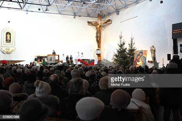 Gdynia Poland 6th January 2016 Four in ten Poles go to Mass while 16 percent of Catholics go to Holy Communion according to the Catholic Church's...
