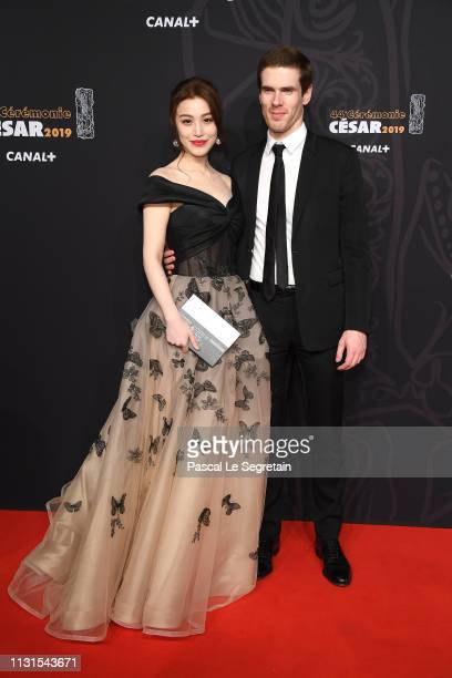 Ge Tian and Alexandre Desseigne attend Cesar Film Awards 2019 at Salle Pleyel on February 22 2019 in Paris France