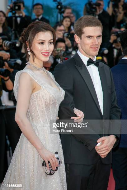 Ge Tian and Alexandre Desseigne attend the closing ceremony screening of The Specials during the 72nd annual Cannes Film Festival on May 25 2019 in...