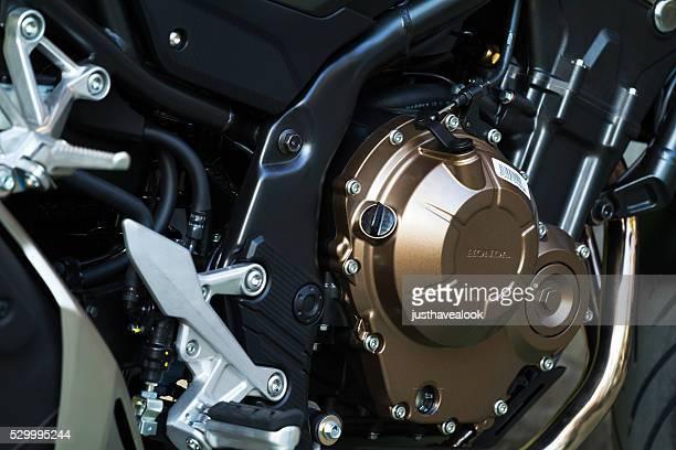 Gear of Honda motorcycle