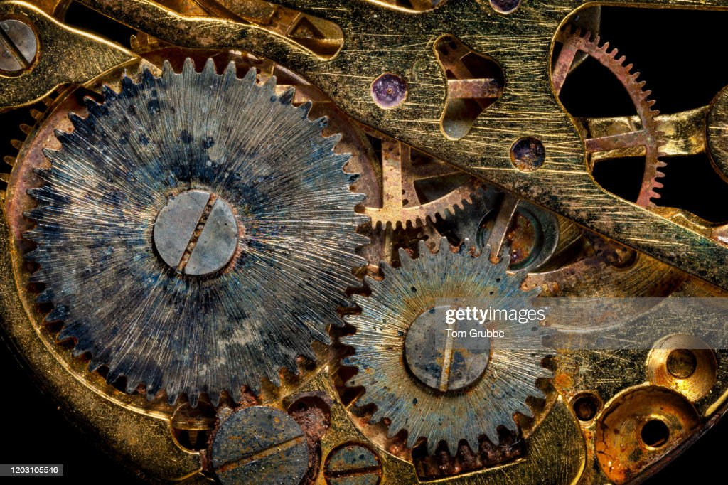 Gears and Rust : Stock Photo