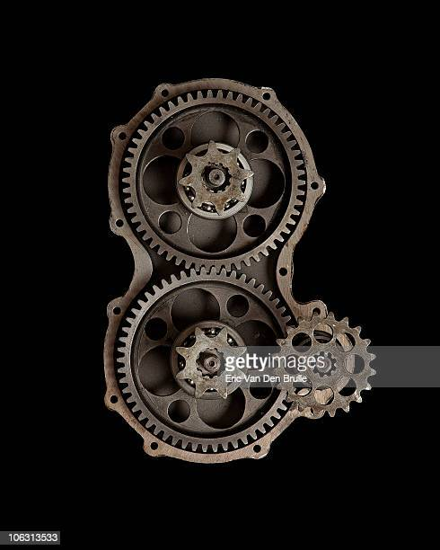 gears - eric van den brulle stock pictures, royalty-free photos & images