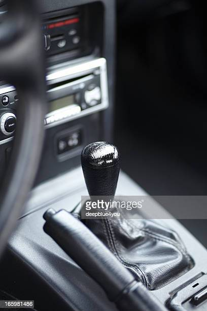 gearshift and hand break