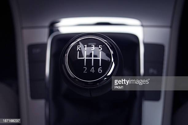 gearshift six speed - gearshift stock photos and pictures