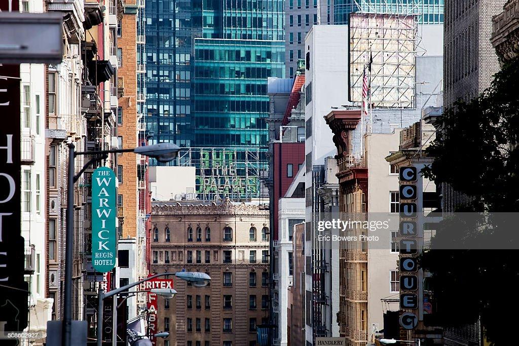 Geary Street, San Francisco : Stock Photo