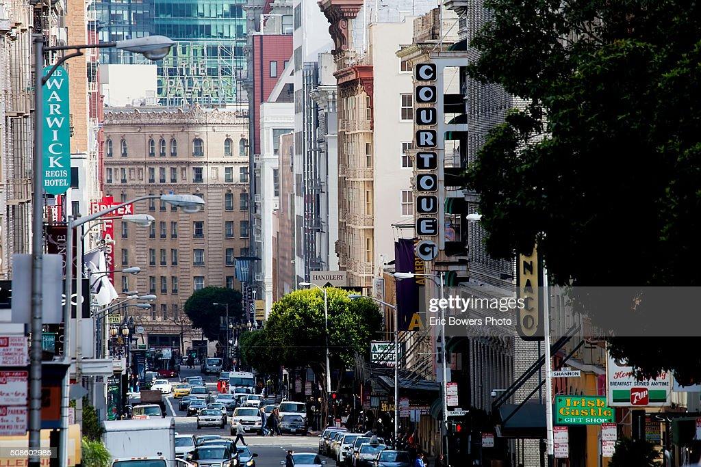 Geary Street, San Francisco : Foto de stock