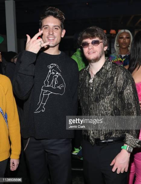 Eazy and Murda Beatz attend Murda Beatz 25th Birthday GRAMMY Celebration on February 08 2019 in West Hollywood California