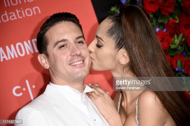 Eazy and Yasmin Wijnaldum attend Rihanna's 5th Annual Diamond Ball at Cipriani Wall Street on September 12 2019 in New York City
