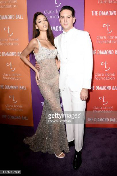 GEazy and Yasmin Wijnaldum attend Rihanna's 5th Annual Diamond Ball at Cipriani Wall Street on September 12 2019 in New York City