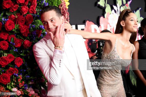Eazy and Yasmin Wijnaldum attend Rihanna's 5th Annual Diamond Ball Benefitting The Clara Lionel Foundation at Cipriani Wall Street on September 12...