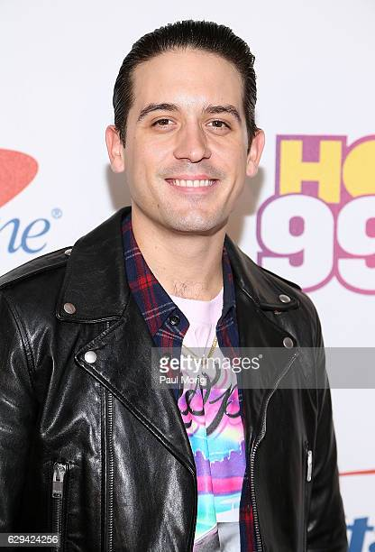 Eazy arrives at Hot 995's Jingle Ball 2016 at the Verizon Center on December 12 2016 in Washington DC