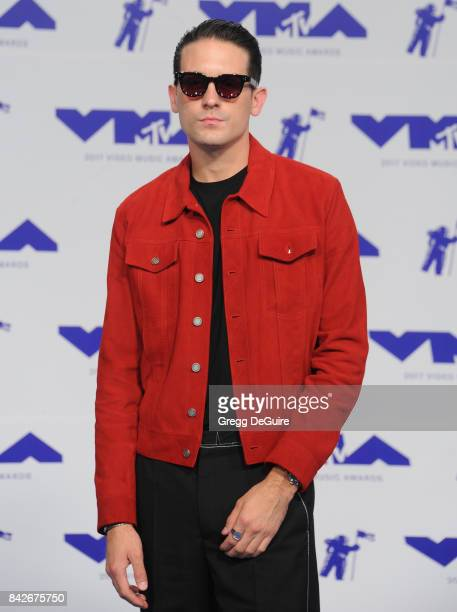 Eazy arrives at the 2017 MTV Video Music Awards at The Forum on August 27 2017 in Inglewood California