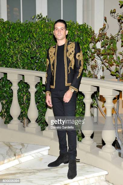 Eazy at BALMAIN celebrates first Los Angeles boutique opening and Beats by Dre collaboration on July 20 2017 in Beverly Hills California