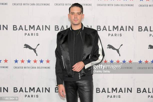 Eazy attends PUMA x Balmain created with Cara Delevingne LA Launch Event at Milk Studios on November 21 2019 in Los Angeles California