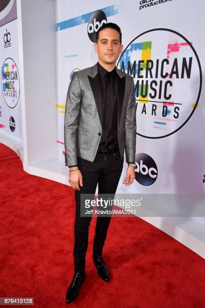 Eazy attends the 2017 American Music Awards at Microsoft Theater on November 19 2017 in Los Angeles California