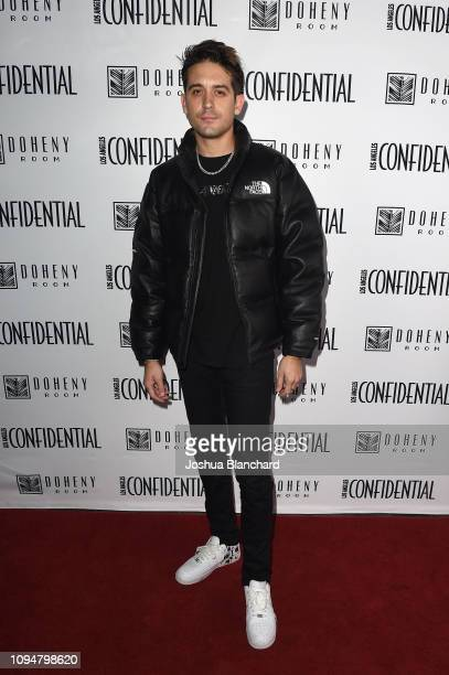 Eazy attends the Los Angeles Confidential Grammys Celebration With GEazy on February 6 2019 in Los Angeles California