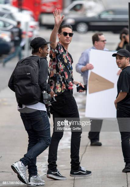 Eazy is seen at 'Jimmy Kimmel Live' on May 10 2017 in Los Angeles California