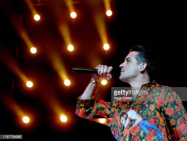 Eazy performs at the 7th Annual BET Experience at LA Live Presented by CocaCola at Staples Center on June 22 2019 in Los Angeles California