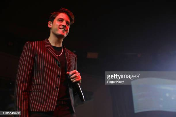 Eazy performs at the Night Two At Palms Casino Resort's KAOS Dayclub Nightclub With Cardi B GEazy J Balvin For Grand Opening Weekend event on April 6...