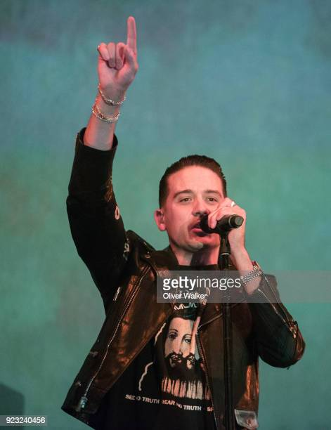 Eazy performs at The Wiltern on February 22 2018 in Los Angeles California