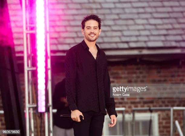 Eazy performs on ABC's 'Good Morning America' at Rumsey Playfield Central Park on July 6 2018 in New York City