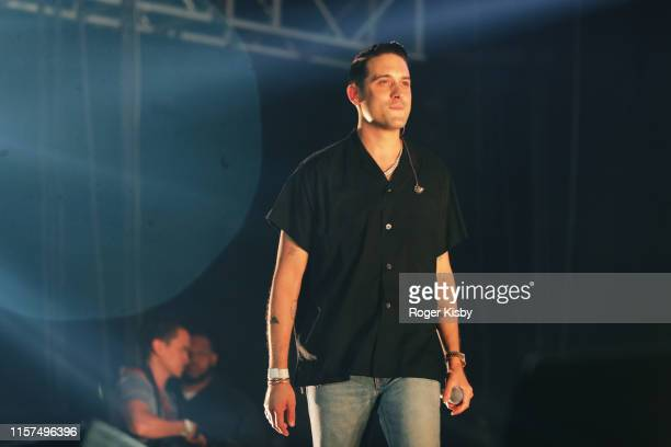 Eazy performs onstage at the 2019 BET Experience STAPLES Center Concert Sponsored By CocaCola at Staples Center on June 21 2019 in Los Angeles...