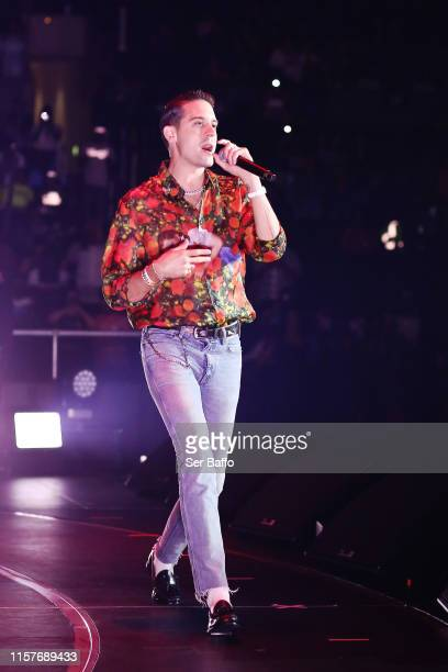 Eazy performs onstage at the STAPLES Center Concert Sponsored By Sprite during BET Experience at Staples Center on June 22 2019 in Los Angeles...