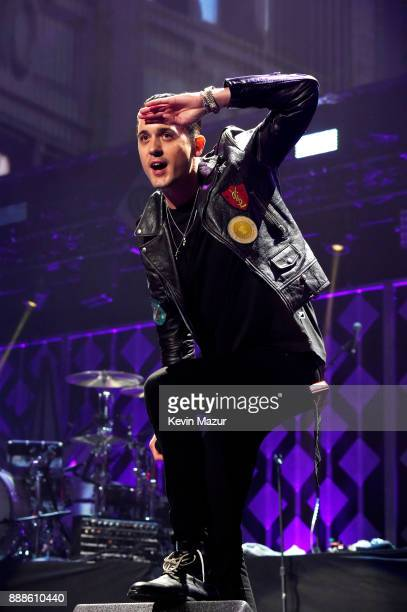 Eazy performs onstage at the Z100's Jingle Ball 2017 on December 8 2017 in New York City