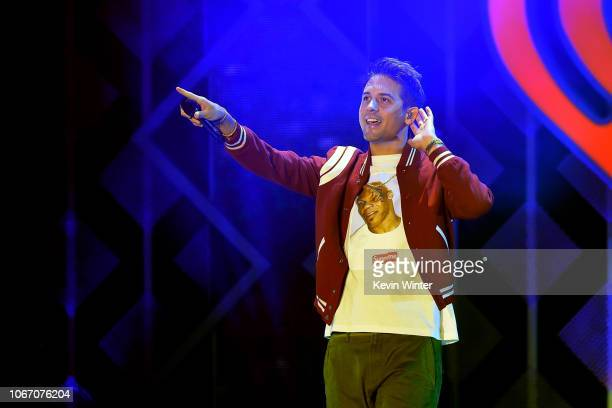 Eazy performs onstage during 1027 KIIS FM's Jingle Ball 2018 Presented by Capital One at The Forum on November 30 2018 in Inglewood California