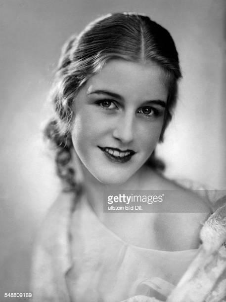 Geb. Baronesse von Freyberg als Filmschauspielerin Pseudonym Daisy d'Ora Miss Germany 1931 - Portrait 1929