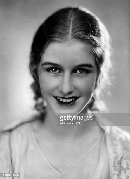 Geb. Baronesse von Freyberg Schauspielerin, Daisy d'Ora Miss Germany 1931 - Portrait - 1929