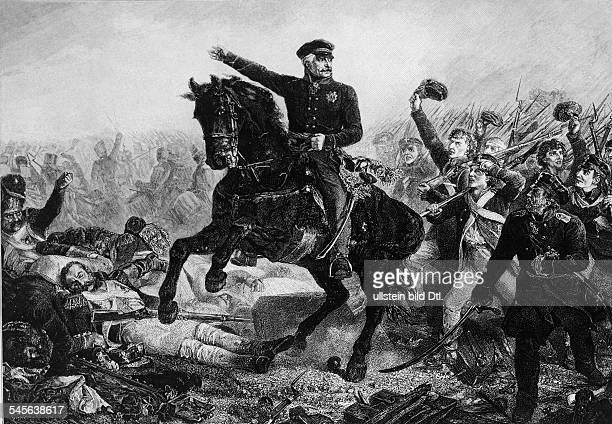 Gebhard Leberecht von Blücher*1742 1819Prussian Field MarshalBlücher and his Prussian army arrive at Waterloo