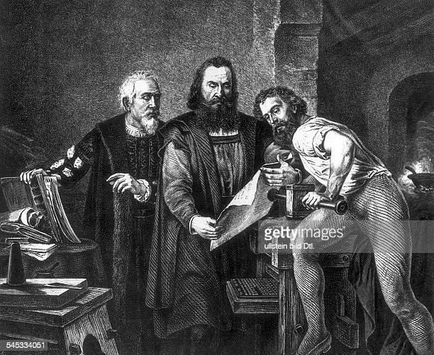 geboren zwischen 1394 u 1399gest 1468Erfinder der Buchdruckkunst Der erste DruckndGem von Reichert