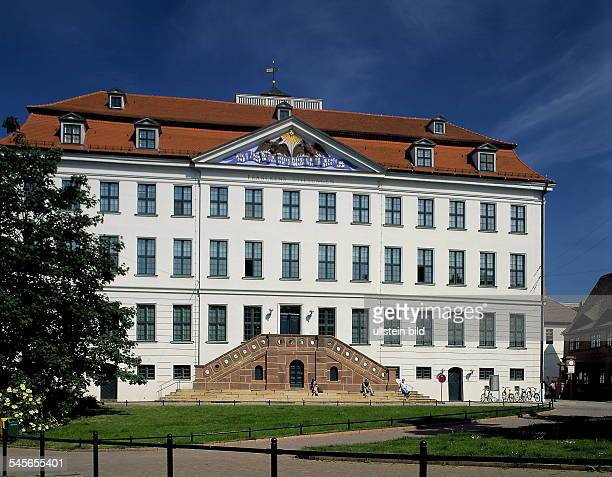 Gebäude der Franckeschen Stiftungen Juni 1999