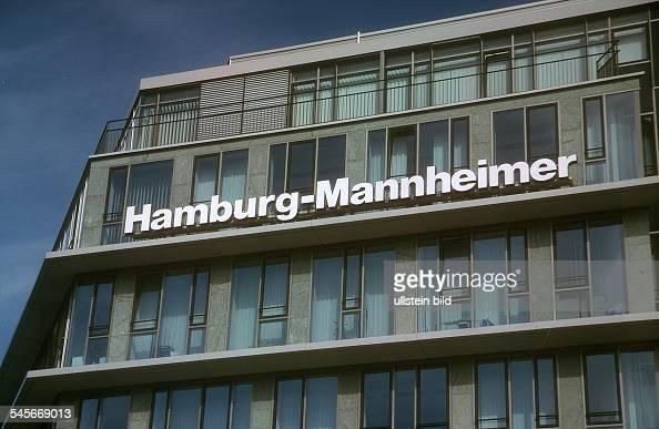 Gebäude Der Hamburg Mannheimer Versicherung Am Hohenzollerndamm In