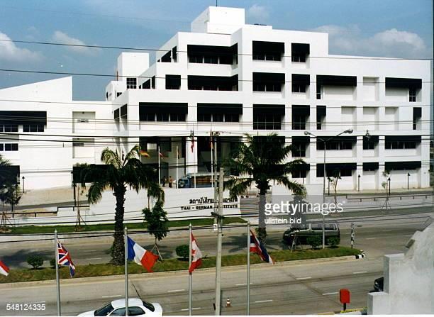 Gebäude des ThaiGerman Institute für berufliche Aus und Fortbildung und Technologie Transfer in Chonburi