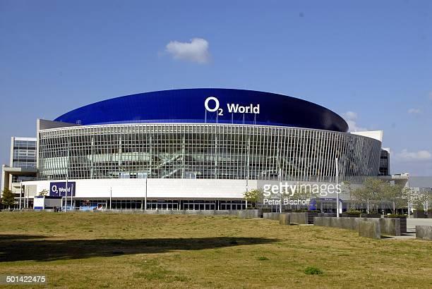 Gebäude von O2 World Friedrichshain Berlin Deutschland Europa Halle Logo Reise BB DIG PNr 570/2013