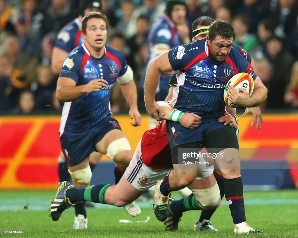Melbourne Rebels v British & Irish Lions : News Photo