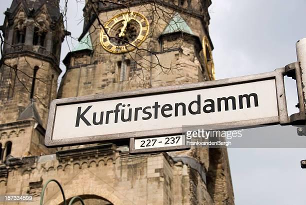 Gedächtnis Kirche sur le Kurfürstendamm