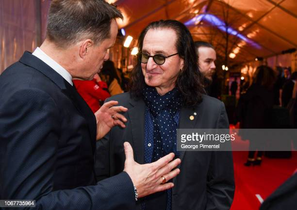 Geddy Lee attends 2018 Canada's Walk Of Fame Awards held at Sony Centre for the Performing Arts on December 1 2018 in Toronto Canada