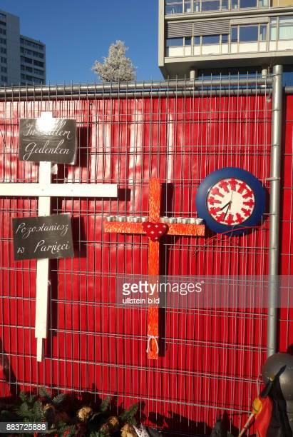 Gedenken des Terroranschlags in Berlin vom Berlin : Terroranschlag vom auf dem Weihnachtsmarkt an der Kaiser-Wilhelm-Gedächtniskirche am...